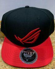 ROG Republic Of Gamers Logo Embroidered baseball hat cap adjustable Snapback