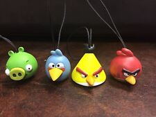 Angry Birds  lot of  4 Christmas Holiday Ornaments NEW