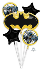 New Batman Comic Balloon Bouquet Birthday Party Decorations Favor Supplies