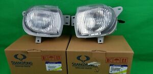 GENUINE SSANGYONG MUSSO SUV ALL MODEL FOG LIGHT LAMP ASSEMBLY SET (RH & LH)