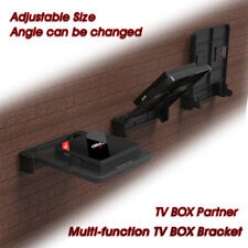 Foldable Mount Bracket for Android TV Box Set Top Box Stand Holder Racks Wall