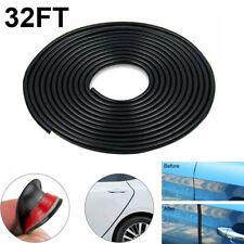 32ft U Shape Rubber Seal Car Door Edge Guard Molding Trim Protectors Strip Black