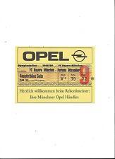Sammler Ticket: BAYERN MÜNCHEN - FORTUNA DÜSSELDORF 18.05.1996, unbenutzt