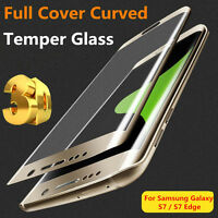 Full Curved 3D Tempered GLASS Screen Protector FOR Samsung Galaxy S7 / S7 EDGE