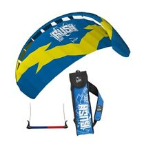 HQ TRAINER POWER KITE 2.0 RUSH 200 WITH CONTROL BAR NEW LINE SPORTS KITESURFING
