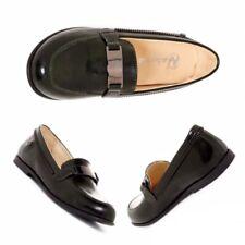 Naturino Big Girl Zip Loafer size 36 NIB Black