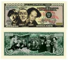 Pack of 25 - The Three Stooges Show Dollar Bill Collectible Novelty Note