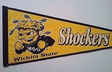 "Wichita State Shockers 1995 Pennant by Wincraft, NCAA, Full Size 12"" x 29"""