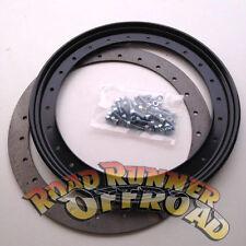 """16"""" Beadlock Rings weld on Rim for Nissan GQ GU Patrol"""
