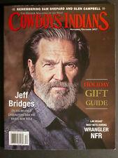 COWBOYS & INDIANS  Jeff Bridges  November/December 2017