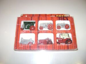 Ertl International Harvester Historical Toy Tractor Set 6 pack