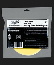 Meguiars WRFP7 Soft Buff Rotary Foam Polishing Pad 7""