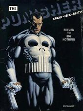 THE PUNISHER RETURN TO BIG NOTHING SEALED Hardcover Epic Comics Graphic Novel