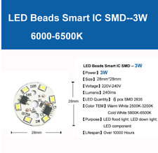 3W High Power LED SMD Chip connect directly to 230V,Inbuid nano driver