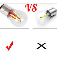 Waterproof 12V 4 LED Filament 1157 BAY15D Light Bulb Car Tail Stop Brake Lamp