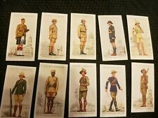 Military Uniforms of the British Empire Overseas (1938) John Player - Buy 2 Save