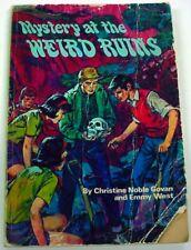 Mystery at the Weird Ruins Three Investigators cover art illustrator Harry Kane