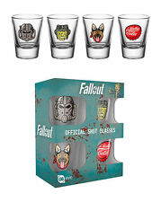 Fallout 4 Icons Shot Glasses | Official Gaming Merchandise New