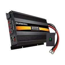 Duracell Power DRINV3000 Black 3000 W High Powered Inverter