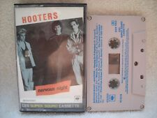 **HOOTERS NERVOUS NIGHT CBS SUPER SOUND AUDIO CASSETTE IN VERY GOOD CONDITION**
