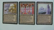 mtg Antiquities Set: Urza's Tower, Power Plant and Mine