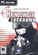 PC DVD-ROM TOM CLANCY'S RAINBLOW SIX LOCKDOWN UBISOFT THE GAMES MACHINE 16+