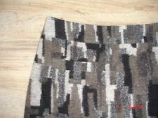 STEILMANN Rock grau braun Hemd zu Hemd Tunika Gr. 42 M L neuwertig