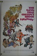 THE GANG THAT COULDN'T SHOOT STRAIGHT FF ORIG 1SH MOVIE POSTER JERRY ORBACH 1971