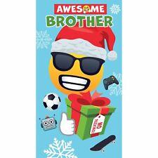 Skateboard cartolina di Natale-Santa Cruise Divertente carta con Babbo Natale in FORD MUSTANG