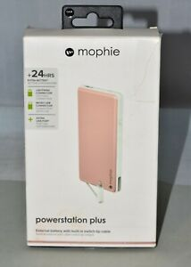 MOPHIE Powerstation Plus Mobile Power 6000mAh External Battery USB Charger Pink