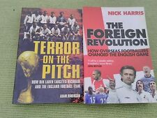 2 FOOTBALL RELATED BOOKS - TERROR ON THE PITCH + THE FOREIGN REVOLUTION