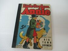 "1937 ""LITTLE ORPHAN ANNIE & THE BIG TOWN GUNMEN"" WHITMAN BIG LITTLE BOOK"