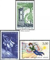 Frankreich 3195,3201,3202 (kompl.Ausg.) gestempelt 1997 Sondermarken