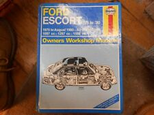 Ford Escort Mk2 1100, 1300 & 1600 OHV 1975-80 Haynes Workshop Manual