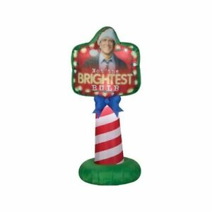 Christmas Vacation Airblown Sign Inflatable Yard National Lampoons Chevy Chase