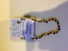 "Healing Hazel Baltic Amber Necklace 11""  Raw Multi"