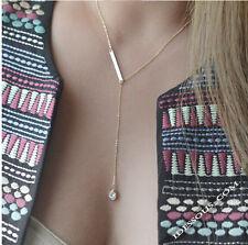 Gold Halskette mit Glanz Zirkon Diamant Kette Damen Collier Anhänger LA FERANI