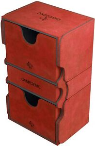 Stronghold Deck Box 200+ Card Red GameGenic Asmodee NEW