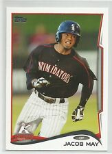Jacob May White Sox 2014 Topps Pro Debut Minor League