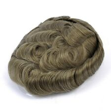 GEX Toupee Mens Hairpiece Bella Basement Wig Human Remy Hair Replacement Systems 1720#
