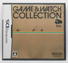 Club Nintendo DS Game & Watch Collection 1 Japanese Ver. DONKEY KONG OIL PANIC