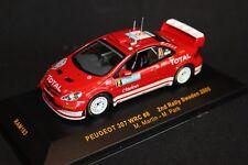 IXO Peugeot 307 WRC 2005 1:43 #8 Martin / Park 2nd Rally Sweden