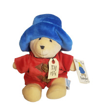 My First Paddington Bear Red Coat Blue Hat An Eden Gift Style #32820