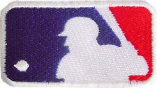 New MLB logo Baseball embroidered iron on patch. (2.9 x 1.6 inch) i166