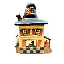 Yankee Candle Halloween Haunted House Tea Light Votive Holder By Teresa Kogut