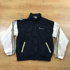 Sergio Tacchini True Vintage Blue White Tracksuit Top Jacket Shellsuit 52 XL