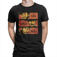Men's The Good The Bad And The Ugly Clint Eastwood Movie T-Shirt