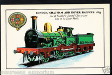 Railway Transport Postcard- London, Chatham and Dover Railway,1873 - RT1804