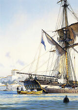 Geoff Hunt Limited Edition Remarque - Master And Commander #800/850