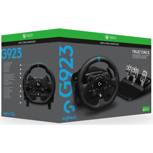 Logitech G923 Racing Wheel and Pedals for Xbox One & PC (XBOX/PC) 941-000161
